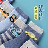 兒童襪子 男童襪子春秋薄款純棉兒童中筒襪秋冬季棉襪男襪