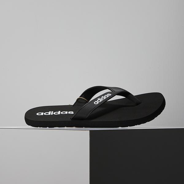 Adidas EEZAY FLIP FLOP 男 黑 夾腳人字 休閒 拖鞋 EG2042