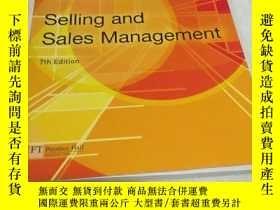 二手書博民逛書店Selling罕見and Sales Management(7t