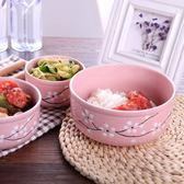 泡面碗帶蓋家用微波爐宿舍碗筷套裝學生飯盒便當盒帶蓋陶瓷碗帶蓋月光節88折
