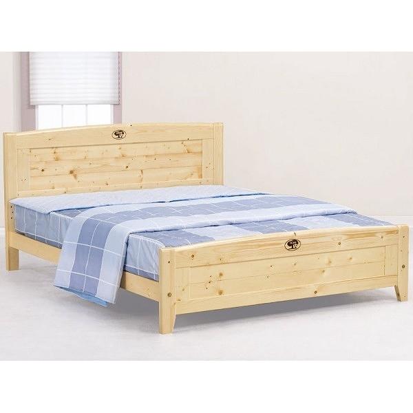 床架 床台 AT-582-1 北歐松木5尺雙人床 (不含床墊) 【大眾家居舘】