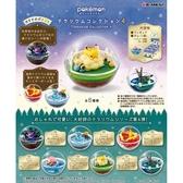 盒裝6款【日本正版】寶可夢 精靈球 P4 盒玩 擺飾 水晶球 第4彈 神奇寶貝 Re-Ment - 204239