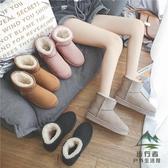 雪地靴女冬季可愛防水防滑加絨加厚保暖棉鞋短靴【步行者戶外生活館】