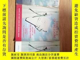 二手書博民逛書店HERITAGE罕見OF FREEDOM 3本雜誌Y9837