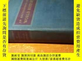 二手書博民逛書店AN罕見ENCYCLOPEDIA OF WORLD HISTOR