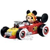 〔小禮堂〕迪士尼 米奇 TOMICA小汽車《MRR01.紅黑》公仔.模型.玩具 4904810-11989