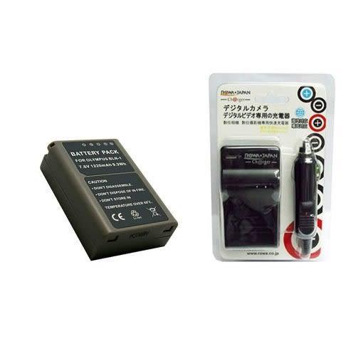【新風尚潮流】For JAPAN Olympus BLN-1 BLN1 數位相機專用 鋰電池充電器組 BLN1