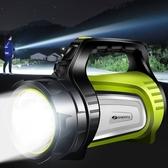 強光手電筒可充電超亮遠射LED氙氣多功能家用戶外5000探照手提燈W 海港城