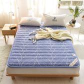 老粗布床墊床褥1.5m床1.8米床1.2米宿舍床墊褥子可折疊榻榻米墊被