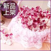 [心心相愛]2顆入心型馬林糖X50份+大提籃X1個-幸福朵朵婚禮小物.擺桌禮.情人節禮物.生日分享