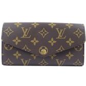 Louis Vuitton LV M60531 新版熱銷款經典花紋扣式長夾 全新 現貨【茱麗葉精品】