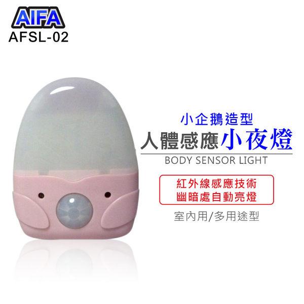 LED 人體感應 小夜燈【E1-014】AIFA科技 夜燈 動能 感應燈