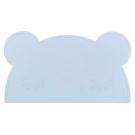 澳洲 We Might Be Tiny 矽膠防滑餐墊熊寶寶-粉藍