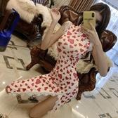 改良旗袍 女裝夏季新款新式小清新旗袍年輕款少女中國風改良版中長款連衣裙