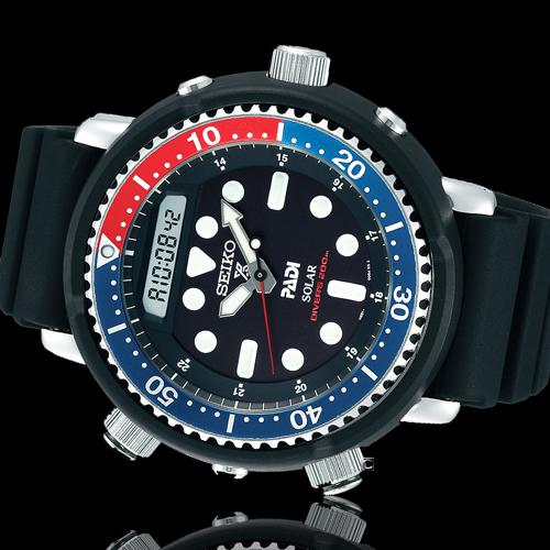 SEIKO ProspexPADI雙顯潛水太陽能腕錶 H851-00A0B SNJ027P1