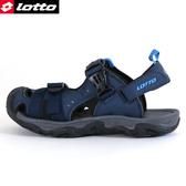男款 LOTTO 0186 護趾涼鞋防滑耐磨輕量軟Q 水陸車鞋 休閒運動護趾涼鞋 59鞋廊