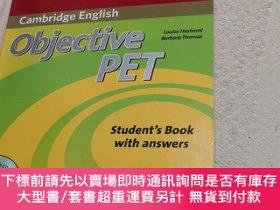 二手書博民逛書店Cambridge罕見English Objective PET Self-Study Pack Student