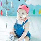 皇冠 毛線 寶寶 針織 拍照 造型髮帶 BW
