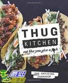 [104美國直購] 2015 美國暢銷書排行榜 Thug Kitchen: The Official Cookbook: Eat Like You Give a Fck. Hardcover