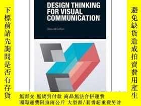 二手書博民逛書店Design罕見Thinking for Visual Comm