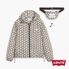 Levis 女款 可收納式口袋風衣外套 / 滿版雛菊印花