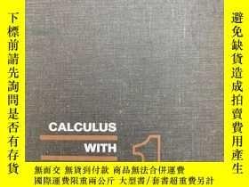 二手書博民逛書店CALCULUS罕見WITH ANALYTIC GEOMETRY微積分與解析幾何Y256699 出版19