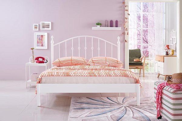 【森可家居】安德魯白色床頭櫃 7JX80-2 床邊架 北歐風