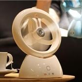 風扇 噴霧風扇加濕器可充電迷你靜音學生宿舍床頭上USB小型制冷小電扇部落