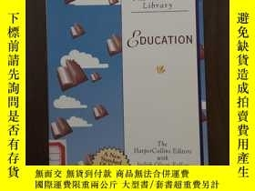 二手書博民逛書店Education罕見: Growing Up, Growing