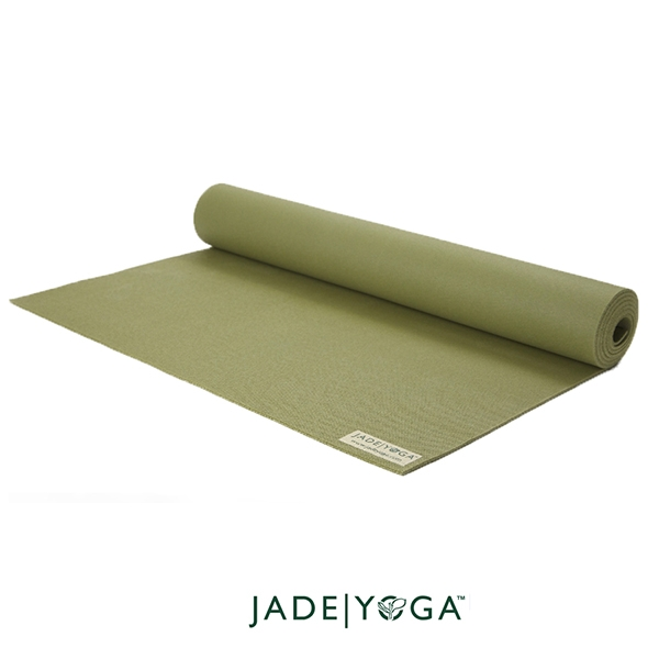 Jade Yoga 天然橡膠瑜珈墊 Harmony Mat 4.8mm 173cm - 橄欖綠