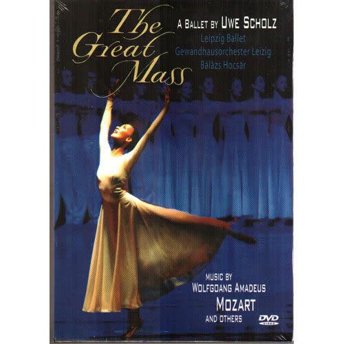 斯圖加特芭蕾舞團 莫札特作品DVD MOZART GREAT MASS BALLET BY UWE SCHOLZ(音樂影
