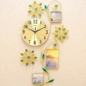 一紅鐘錶掛鐘客廳個性創意時鐘現代時尚掛錶簡約大氣家用石英鐘 雙十二8折