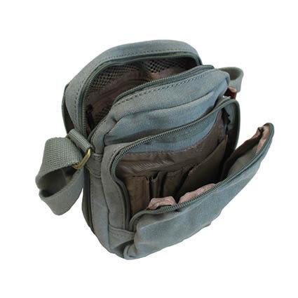 TROOP 英國 帆布包 經典品格CLASSIC斜背包帆布包-2色/TRP0239
