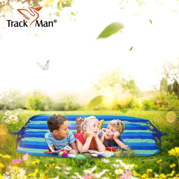 吊床-Trackman戶外吊床單人加厚帆布野營室內秋千吊椅成人帆布吊床 Korea時尚記
