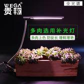 貴翔 多肉上色盆景全光譜補光燈植物生長燈水草蘭花卉蔬菜夾子  極有家 ATF