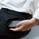 Alto 皮革鑰匙環零錢包 – 礫石灰 (可加購客製雷雕) 零錢包 鑰匙包