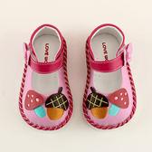 【愛的世界】蘑菇寶寶鞋/學步鞋-台灣製- ★童鞋童襪