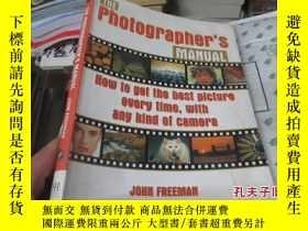 二手書博民逛書店The罕見Photographers Manual攝影師手冊23