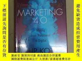 二手書博民逛書店Marketing罕見4.0: Moving from Traditional to Digital 營銷革命4.