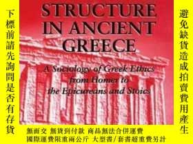 二手書博民逛書店【罕見】Moral Codes And Social Structure In Ancient Greece (s