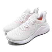 adidas 慢跑鞋 AlphaBounce Plus W 白 粉紅 女鞋 運動鞋 【PUMP306】 G54122