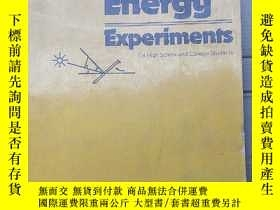 二手書博民逛書店solar罕見energy experiments(P2691)Y173412