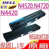 DELL 電池(原廠)-戴爾 電池- INSPIRON N4420,N4520,N4720,N5420,N5425,N5520,N5720,N7420,N7720,M421R,M521R