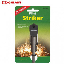 丹大戶外【Coghlans】FLINT STRIKER 打火石/點火棒/打火機/起火器/起火棒/野外求生/鎂棒 C-1005