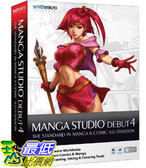 [美國直購 ShopUSA] Manga Studio Debut 4 (Win/Mac)$1287