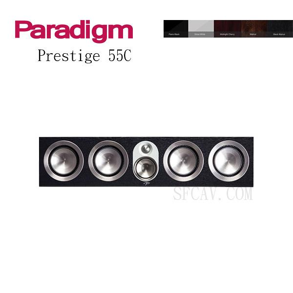 【竹北勝豐群音響】Paradigm Prestige 55C 中置喇叭 WA / B-WA