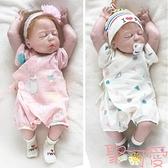 寶寶紗布和服紗布三角哈衣日系連體夏裝洋氣嬰兒衣服薄棉公主【聚可愛】