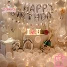 生日裝飾品氣球派對浪漫場景布置背景墻佈置...