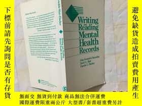 二手書博民逛書店writing罕見and reading mental heal