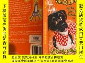 二手書博民逛書店badger罕見the mystical mutt and the barking boogie 糾纏神秘的小狗和